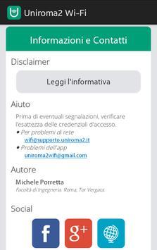 Uniroma2 Wi-Fi apk screenshot