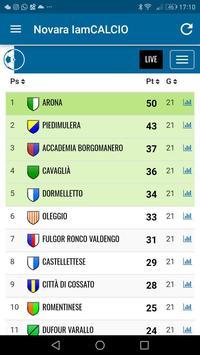 Novara IamCALCIO screenshot 3