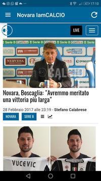 Novara IamCALCIO screenshot 9