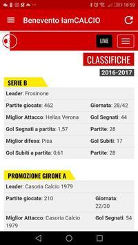 Benevento IamCALCIO apk screenshot