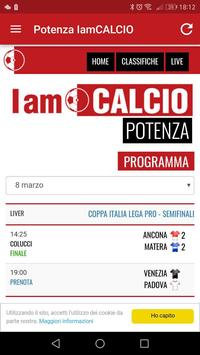 Potenza IamCALCIO apk screenshot