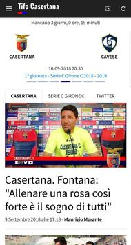 Tifo Casertana poster