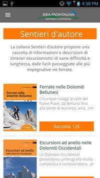 Idea Montagna poster