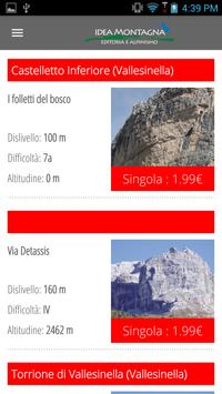 Idea Montagna apk screenshot