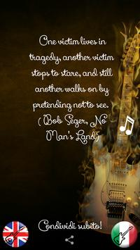 Music quotes poster
