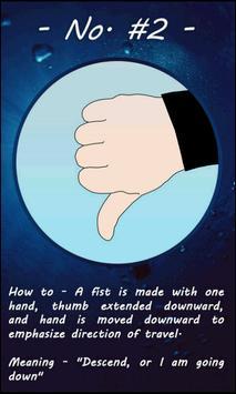 Hand Signals for Scuba Diving screenshot 2