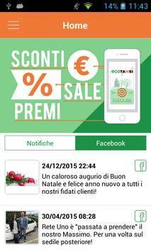 Ecotaxi App screenshot 1