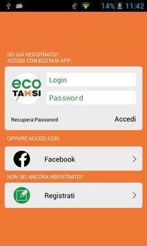 Ecotaxi App screenshot 2