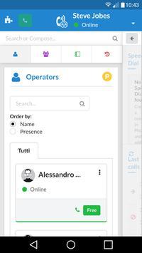 NethCTI screenshot 1