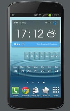 Weekly Calendar Widget apk screenshot