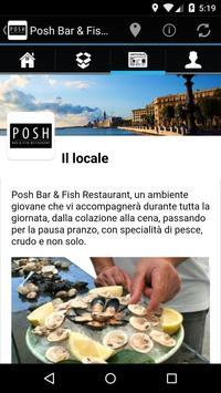 Posh Bar & Fish Restaurant screenshot 1