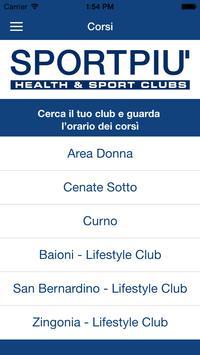 Sportpiù  Health e Sport Clubs apk screenshot