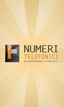 Numeri Telefonici poster