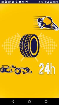 Motorsports 24h poster