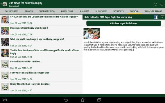 Australia Rugby 24h screenshot 7