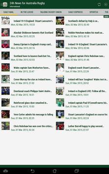 Australia Rugby 24h screenshot 5