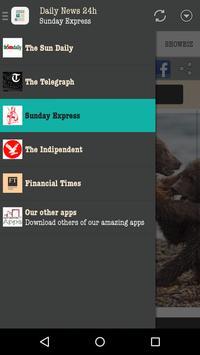 Daily News UK 24h apk screenshot