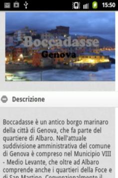Genova Boccadasse poster