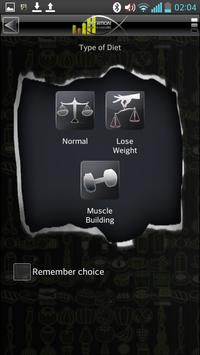 Nutrition Pro Manager (Demo) apk screenshot