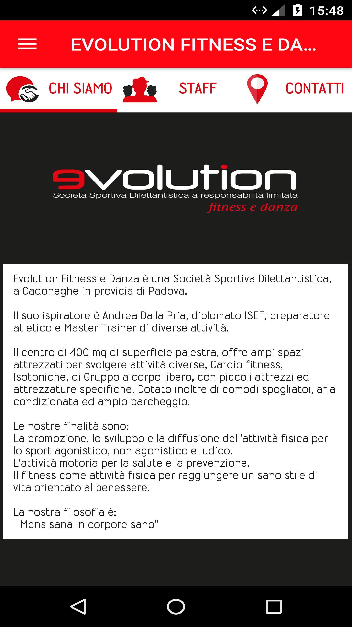 Evolution Fitness E Danza For Android Apk Download