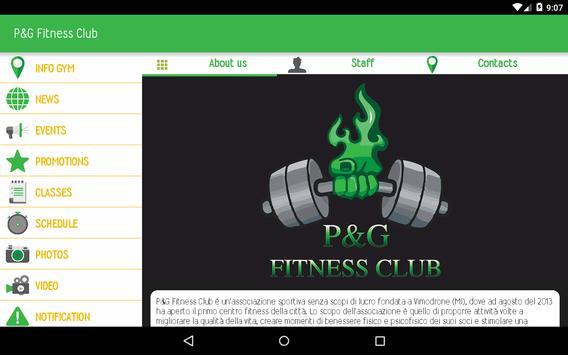 P&G Fitness Club apk screenshot