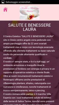 SALUTE E BENESSERE LAURA apk screenshot