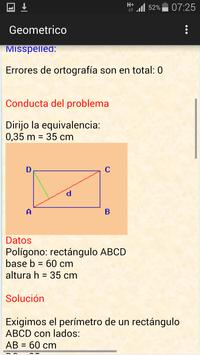 Calculador geométrico poster