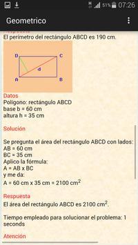 Calculador geométrico screenshot 3