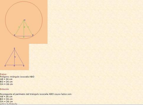 Calculador geométrico screenshot 5