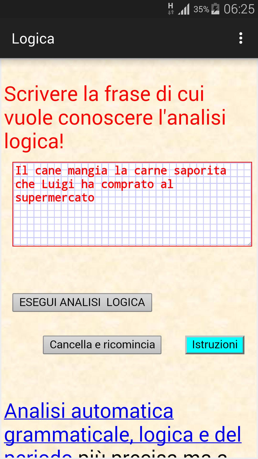 Analisi Logica Italiana For Android Apk Download