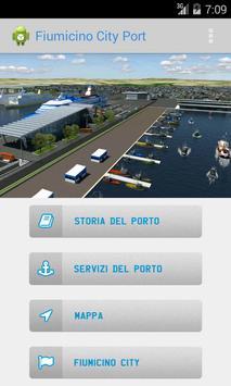Fiumicino City Port poster