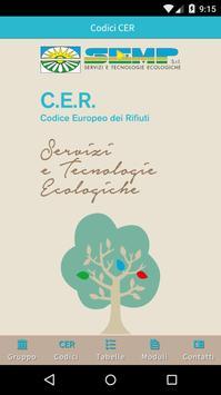 SEMP - Codici CER poster