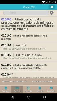 SEMP - Codici CER screenshot 2