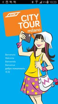 ATM city tour Milano poster