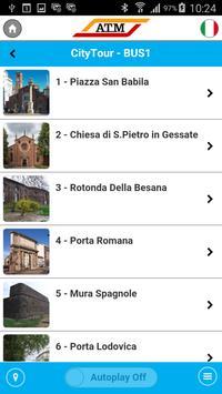 ATM city tour Milano apk screenshot