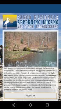 Parco Val d'Agri poster