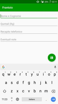 Frantoio apk screenshot