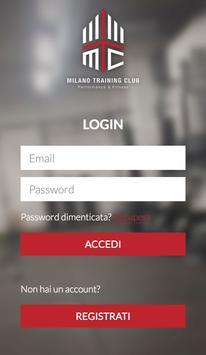Milano Training Club screenshot 1