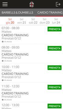 Milano Training Club screenshot 2