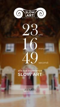 Slow Art Experience poster