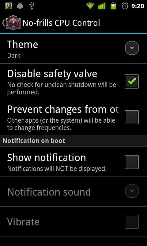 No-frills CPU Control for Android - APK Download