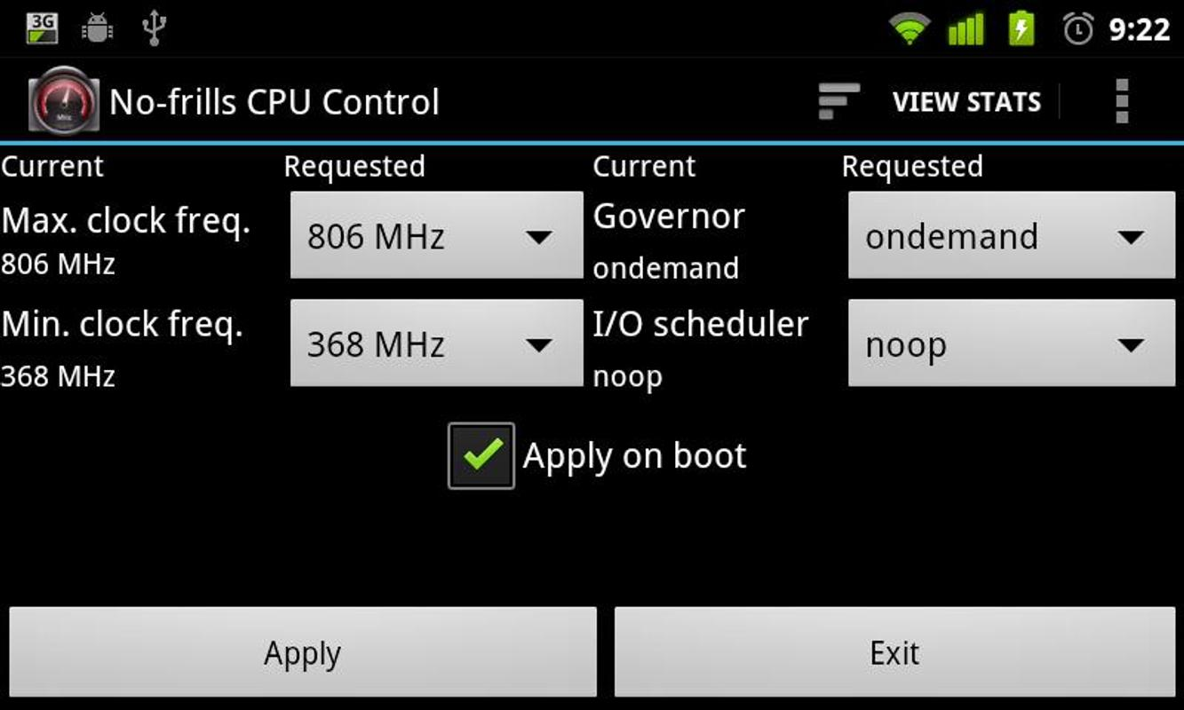 no frills cpu control apk full