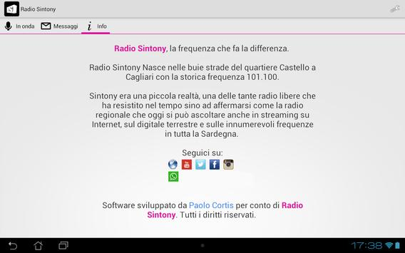 Radio Sintony screenshot 3