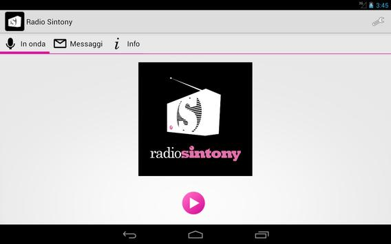 Radio Sintony screenshot 4