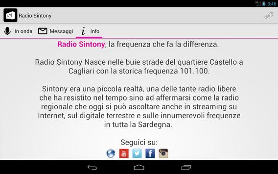 Radio Sintony screenshot 5