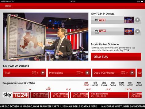 Sky TG24 apk screenshot