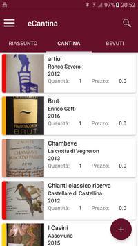 eCantina wine cellar screenshot 1