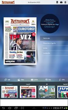 Tuttosport HD apk screenshot