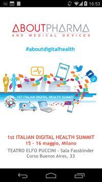 Italian Digital Health Summit poster