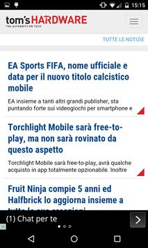 I Quotidiani News Tecnologia apk screenshot